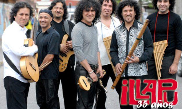 La música andina fusionada con rock por el Conjunto Illapu