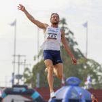 Una plata agridulce para Emiliano Lasa en salto alto