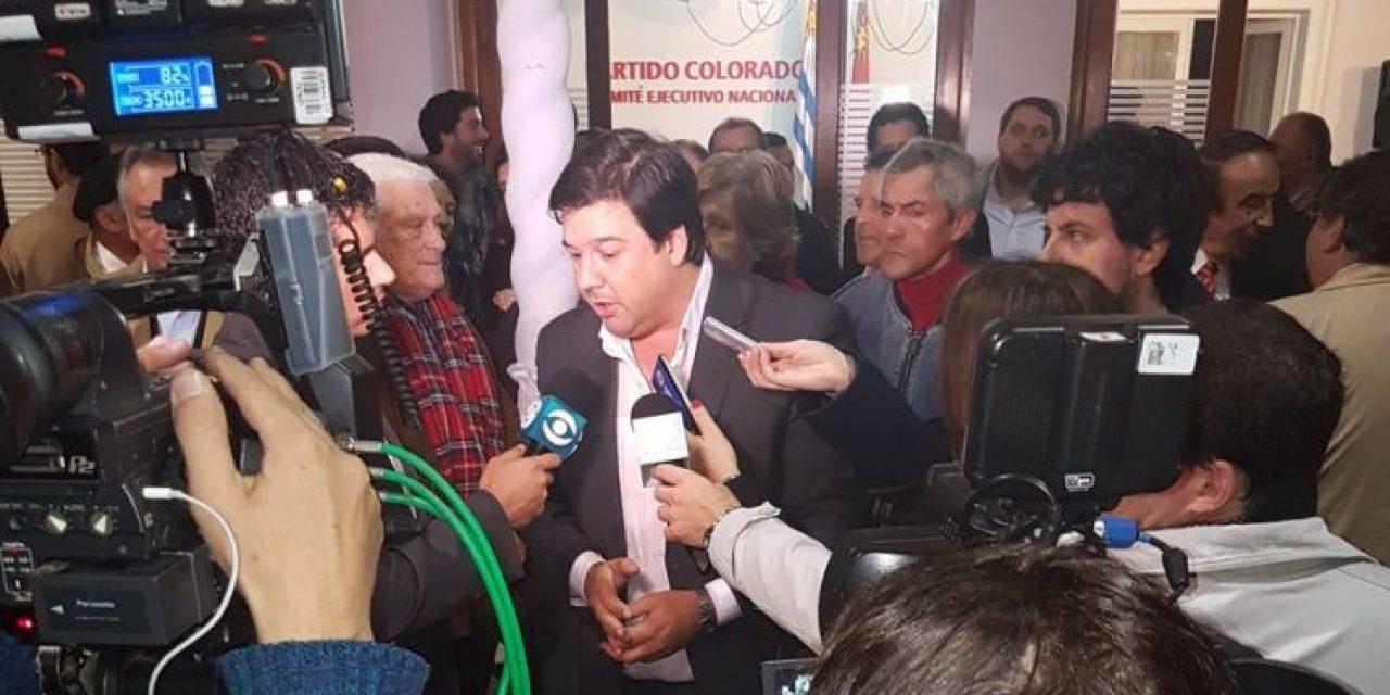 Adrián Peña es el nuevo secretario general del Partido Colorado