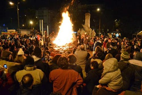 Viví la Noche de San Juan en Montevideo