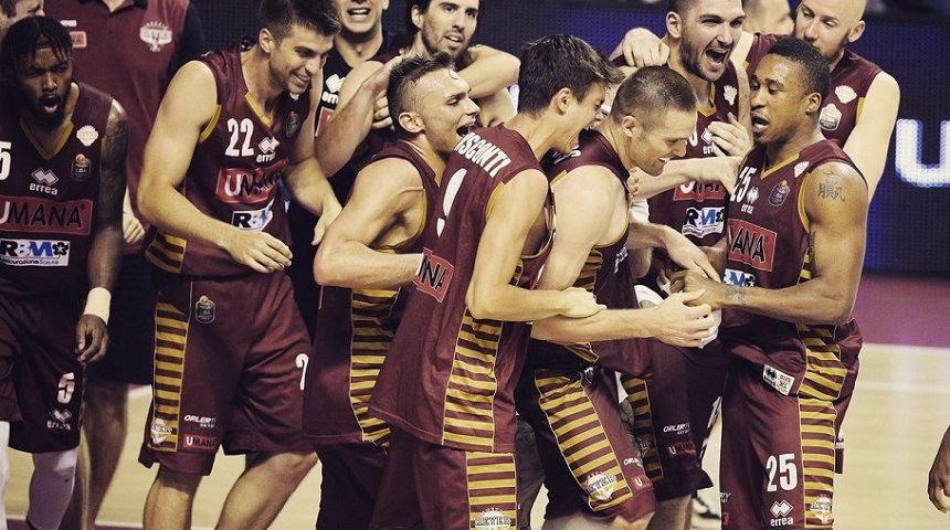 El Umana Venezia, equipo en el que juega Esteban Batista, quedó a un triunfo de ser campeón