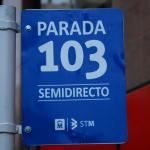 Usuarios de la línea 103 se ahorrarán hasta 100 minutos semanales en viaje