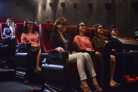 Movie estrena la primera sala de cine 4D del país