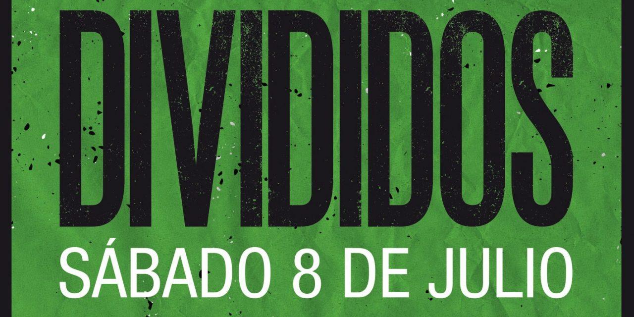 Se presenta DIVIDIDOS en Landia este 8 de Julio