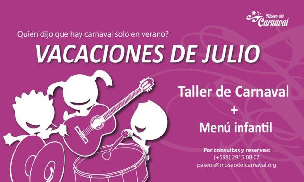 Museo del Carnaval invita en las Vacaciones de Julio