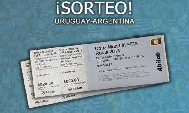¡Ganate dos entradas para ir a ver Uruguay-Argentina!