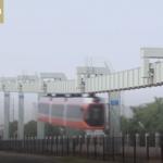 """Prueban en China """"El tren del cielo"""""""