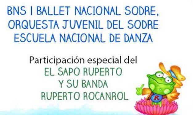 El Sapo Ruperto con Horacio Quiroga estas vacaciones en el SODRE