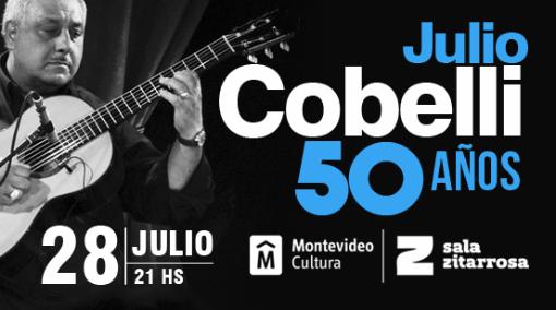 Julio Cobelli celebra 50 años de carrera