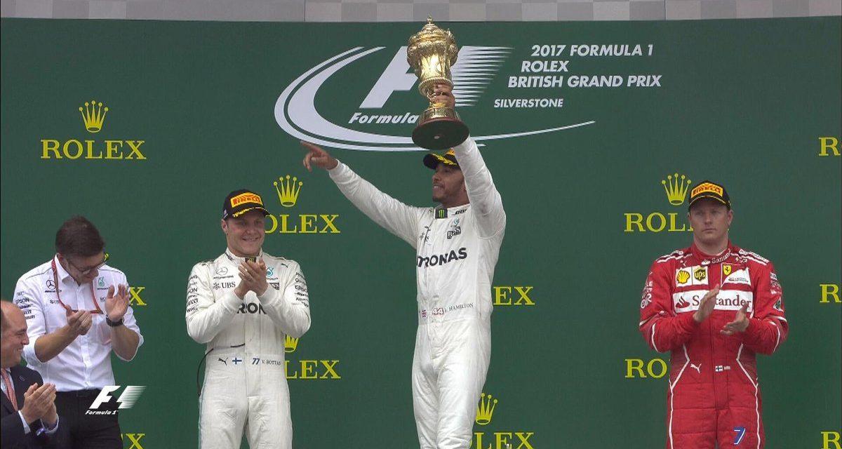 Fórmula 1: Hamilton ganó en su país