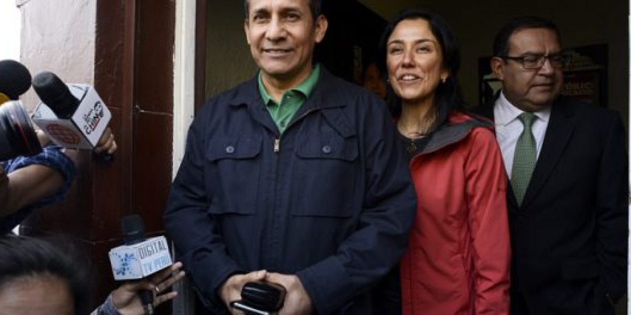 Ollanta Humala y su esposa ya están en Prisión