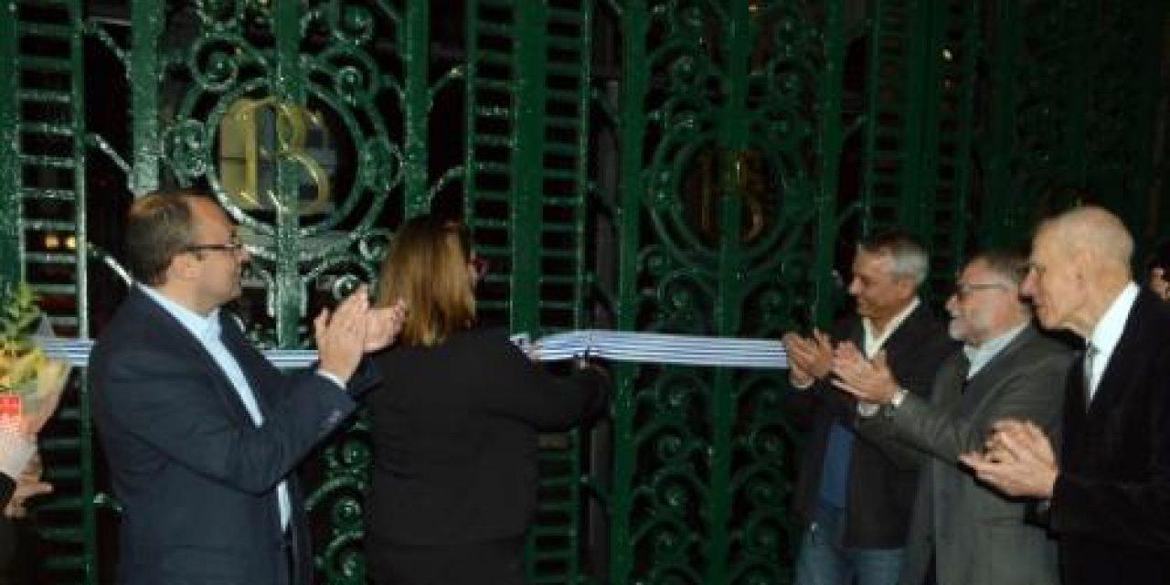 Palacio Salvo recupera sus portones originales