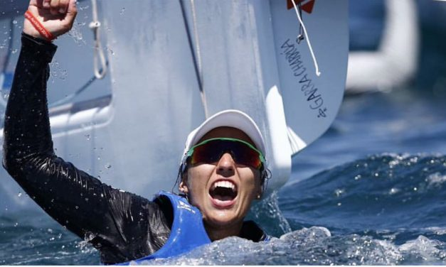 Lola Moreira plata en el Mundial de Vela sub 19