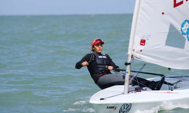 Lola Moreira se encuentra octava en el Mundial de Vela