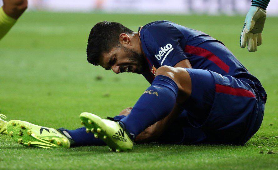 Luis Suárez está desgarrado
