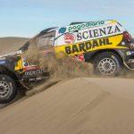 """El """"oso"""" Lafuente en el Rally de Atacama"""