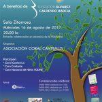 Coral Cantemus en Sala Zitarrosa por la Fundación Alvarez Caldeyro Barcia