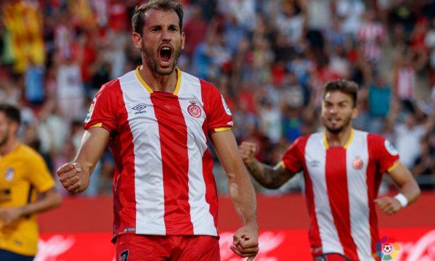 Tres goles uruguayos en Girona – Atlético de Madrid