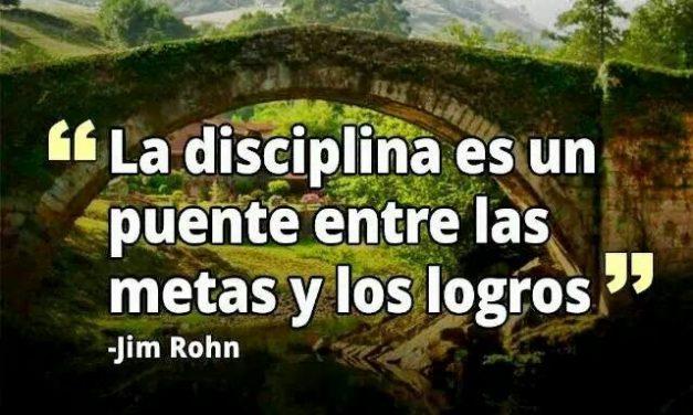 """Cuando """"disciplina"""" no es una mala palabra"""