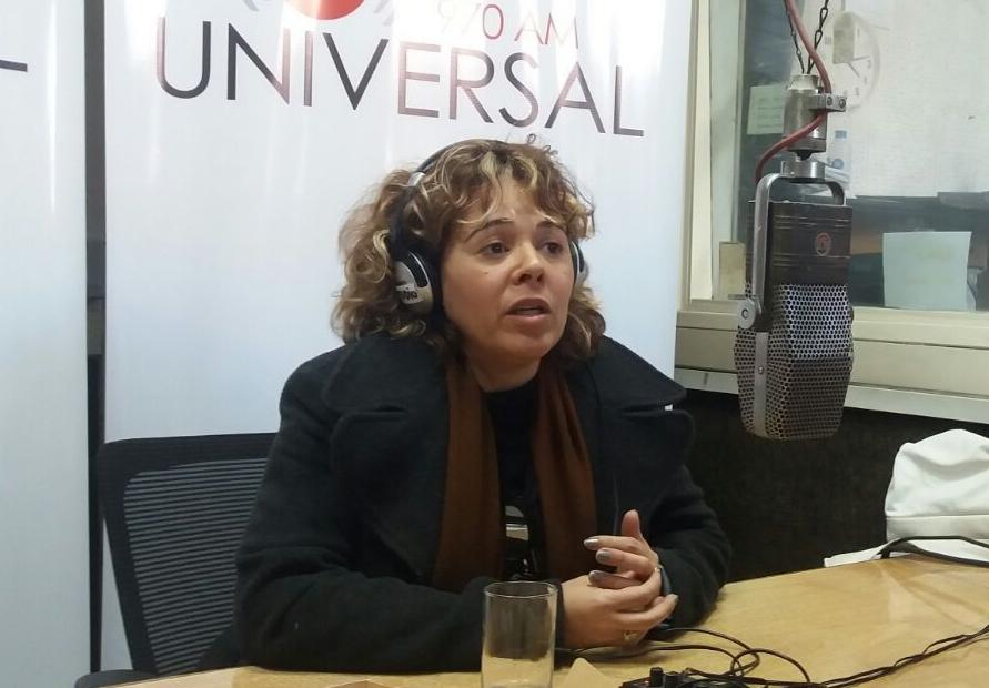 La cantante brasileña Tamy se presenta en La Trastienda