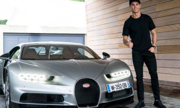 Conocé el nuevo Bugatti de Cristiano Ronaldo
