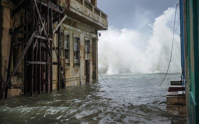 Cuba informó 10 muertos por el huracán