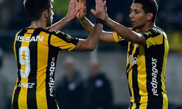 Palacios volvió a anotar en la victoria de Peñarol ante Wanderers