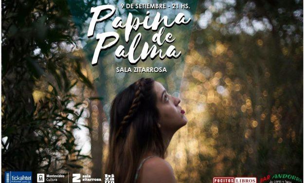 Papina Di Palma en Sala Zitarrosa con su primer disco