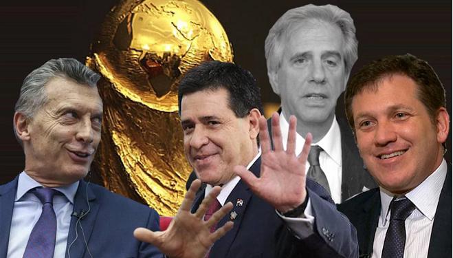 Mundial 2030: Cartes visita a Macri y Tabaré (enojado) pega el faltazo