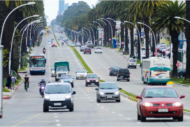 La Dirección Nacional de Policía de Tránsito prepara operativo para el recambio de turistas