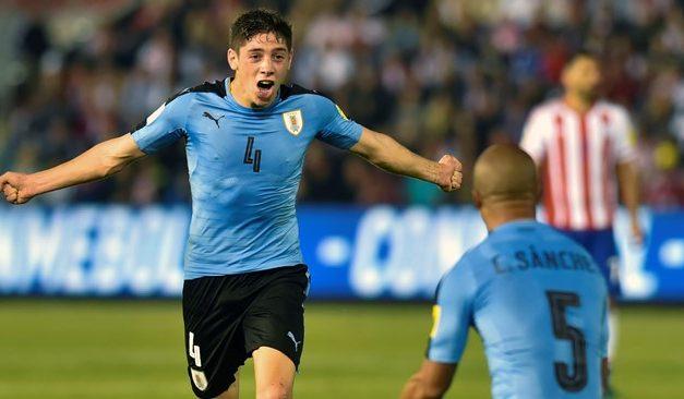 FIFA distinguió a Valverde como mejor jugador de la fecha Mundial