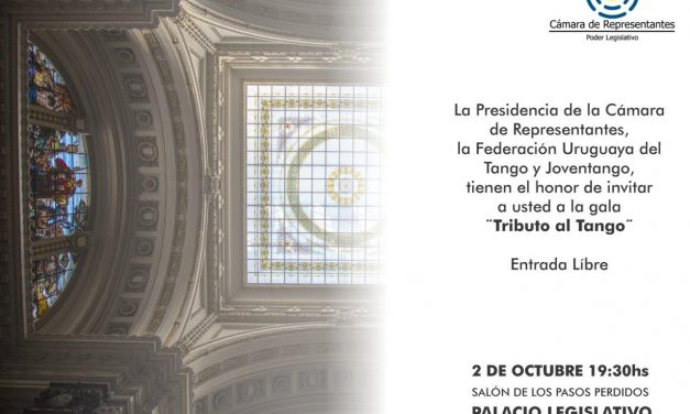 """""""Tributo a La Cumparsita"""" hoy en el Palacio Legislativo"""