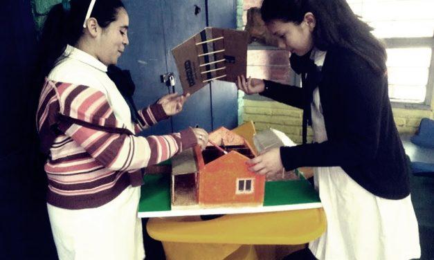 """Escuelas rurales presentan proyecto """"La casa del futuro"""""""
