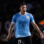 Un grito de gol: Cavani ante Venezuela en la última eliminatoria