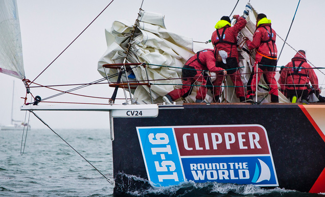 Punta del Este despide este miércoles a la regata Clipper