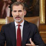 Duro mensaje del Rey de España