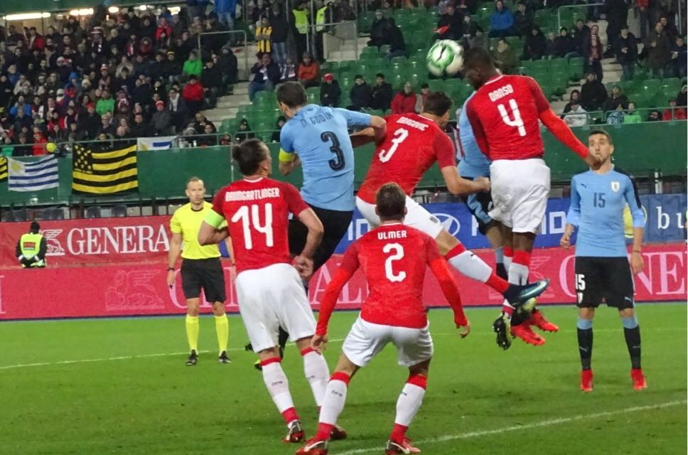 Uruguay cayó ante Austria