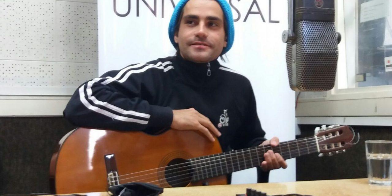 Gabo de León volvió con su música a Uruguay