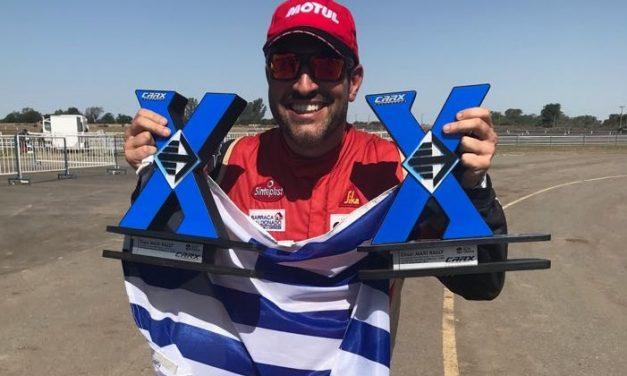 Rodrigo Zeballos logró el título en el Torneo Argentino de Rallycross