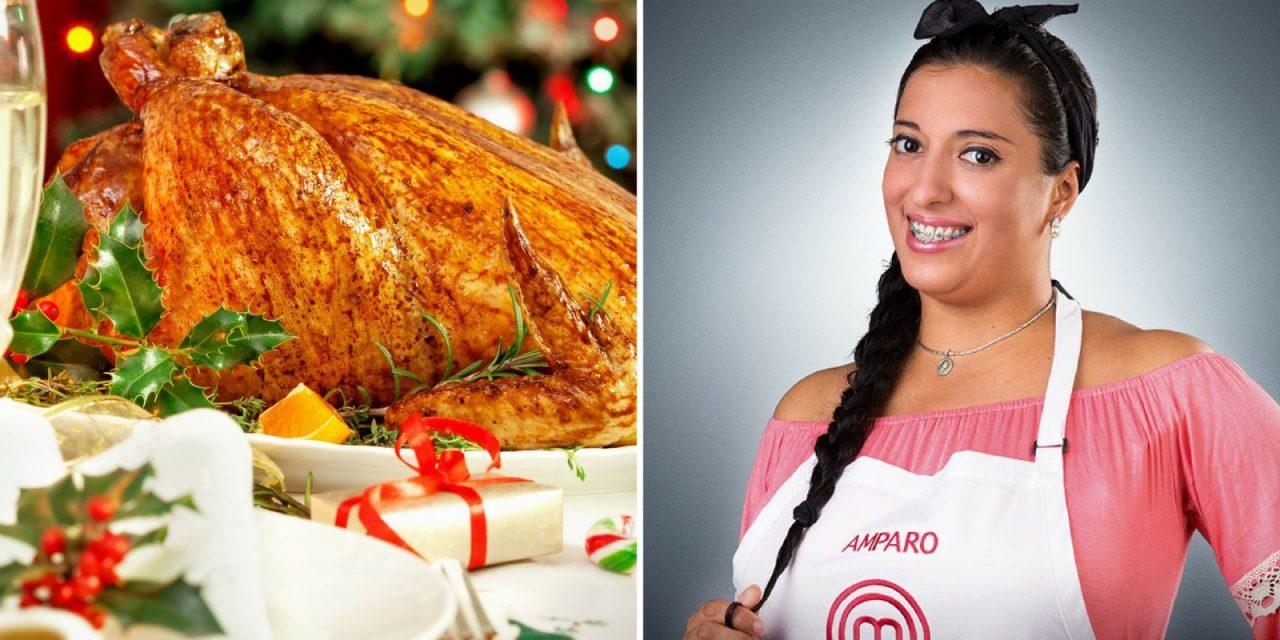 Amparo se adelanta a las fiestas con las comidas típicas en el mundo