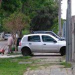 Contundente: está prohibido estacionar sobre las veredas