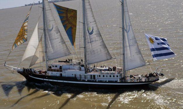 El buque escuela Capitán Miranda vuelve a navegar