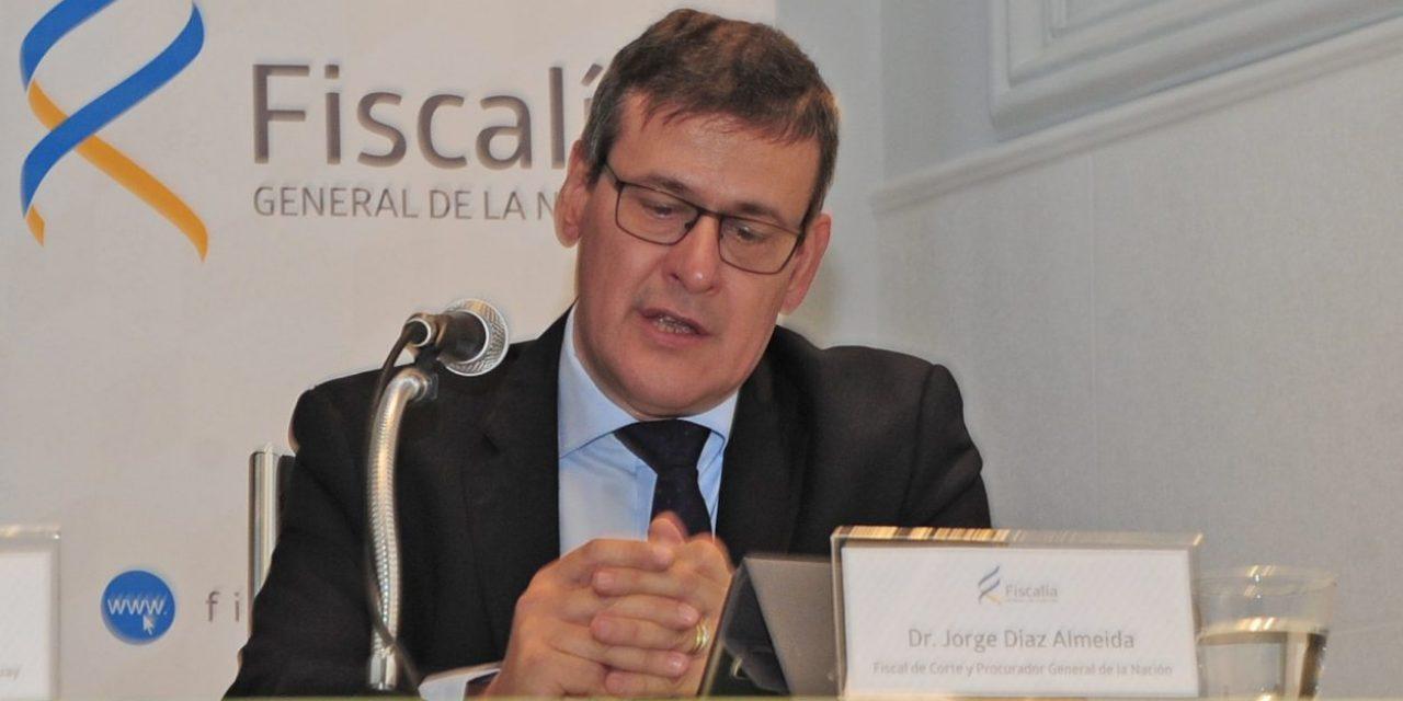 La investigación de la amenaza al fiscal Díaz
