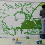 Inscriben para graffitear los comercios de 18 de Julio