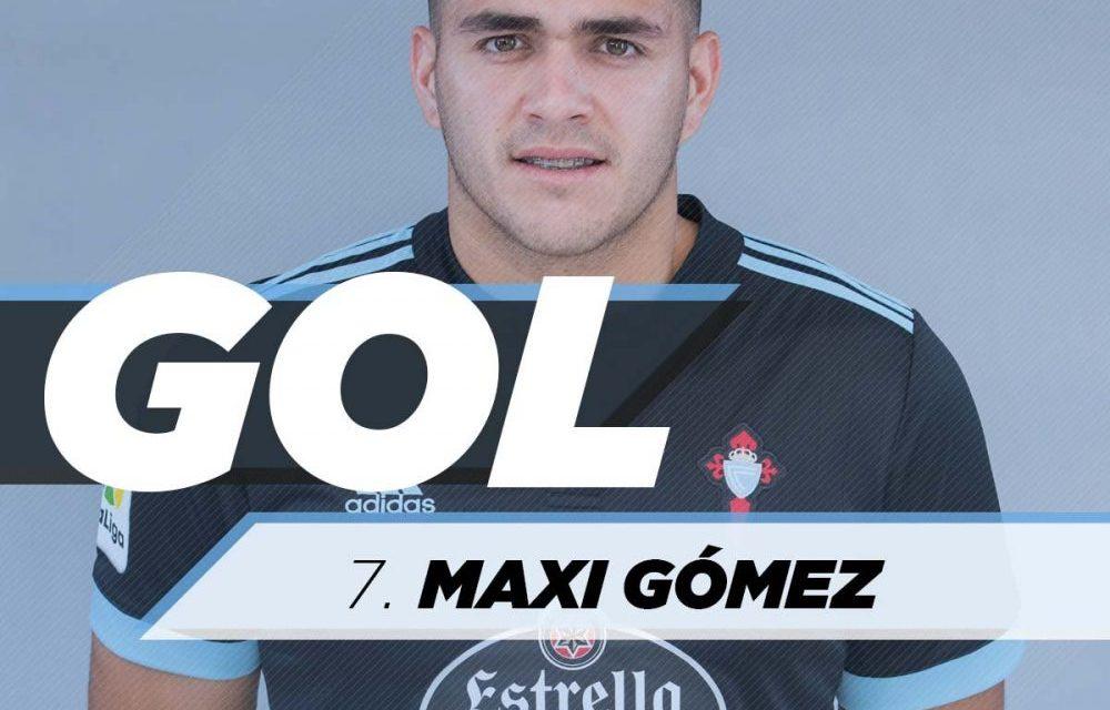 Otro gol de Maxi Gomez en Celta
