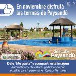 Paysandú: sortean estadías en Termas a través de redes sociales