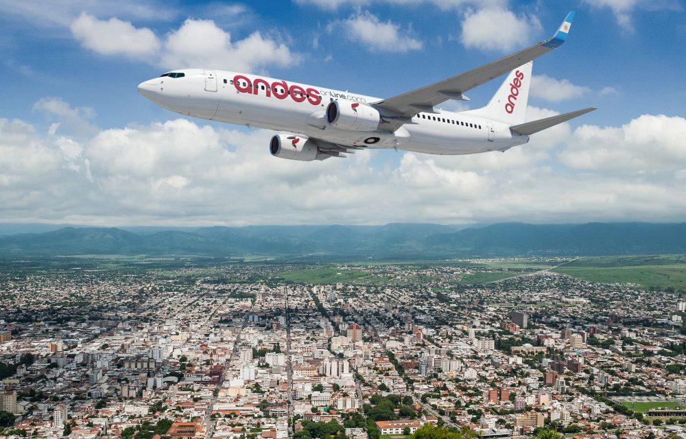 Andes Líneas Aéreas inaugura frecuencia Buenos Aires y Punta del Este