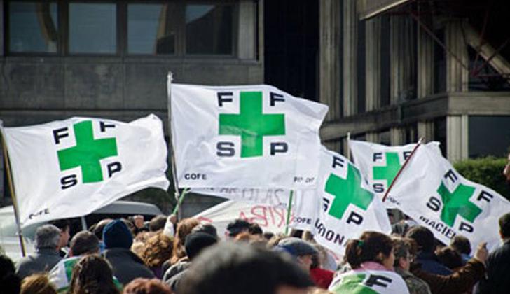 Funcionarios de Salud Pública se movilizó por incumplimiento de ASSE