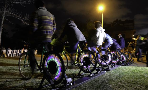 Mundo Pedal en el Parque Rodó