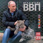 Locura en Rusia por almanaque 2018 con fotos de Vladimir Putin